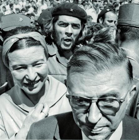Che, Simone y Sartre (Holguin 24-Febrero-1960) NIV